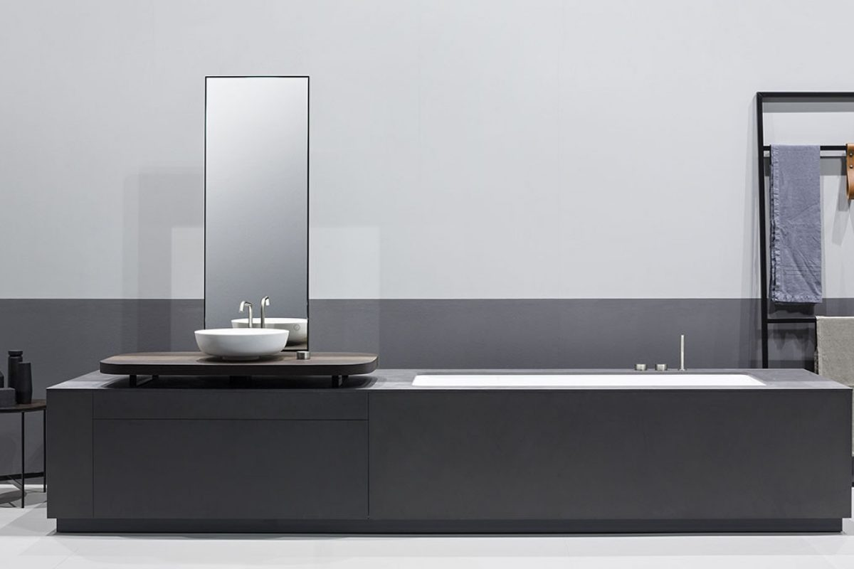 Manhattan, integrated bathtub – washbasin system, the newest by Makro