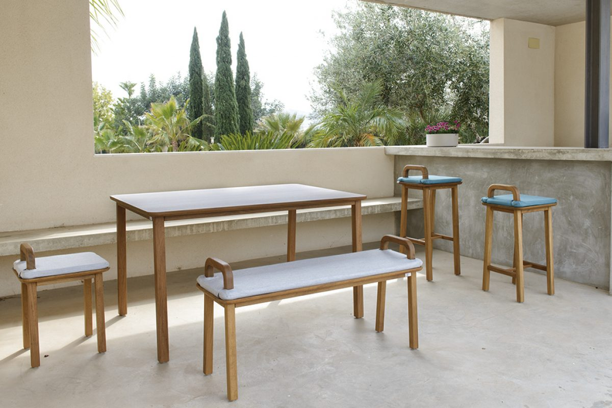 Oma outdoor collection by Silvia Ceñal for Oi Side