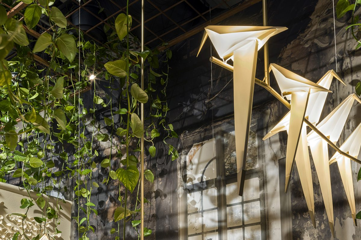 Lighting that is out of the ordinary. Perch Light by Umut Yamac for Moooi