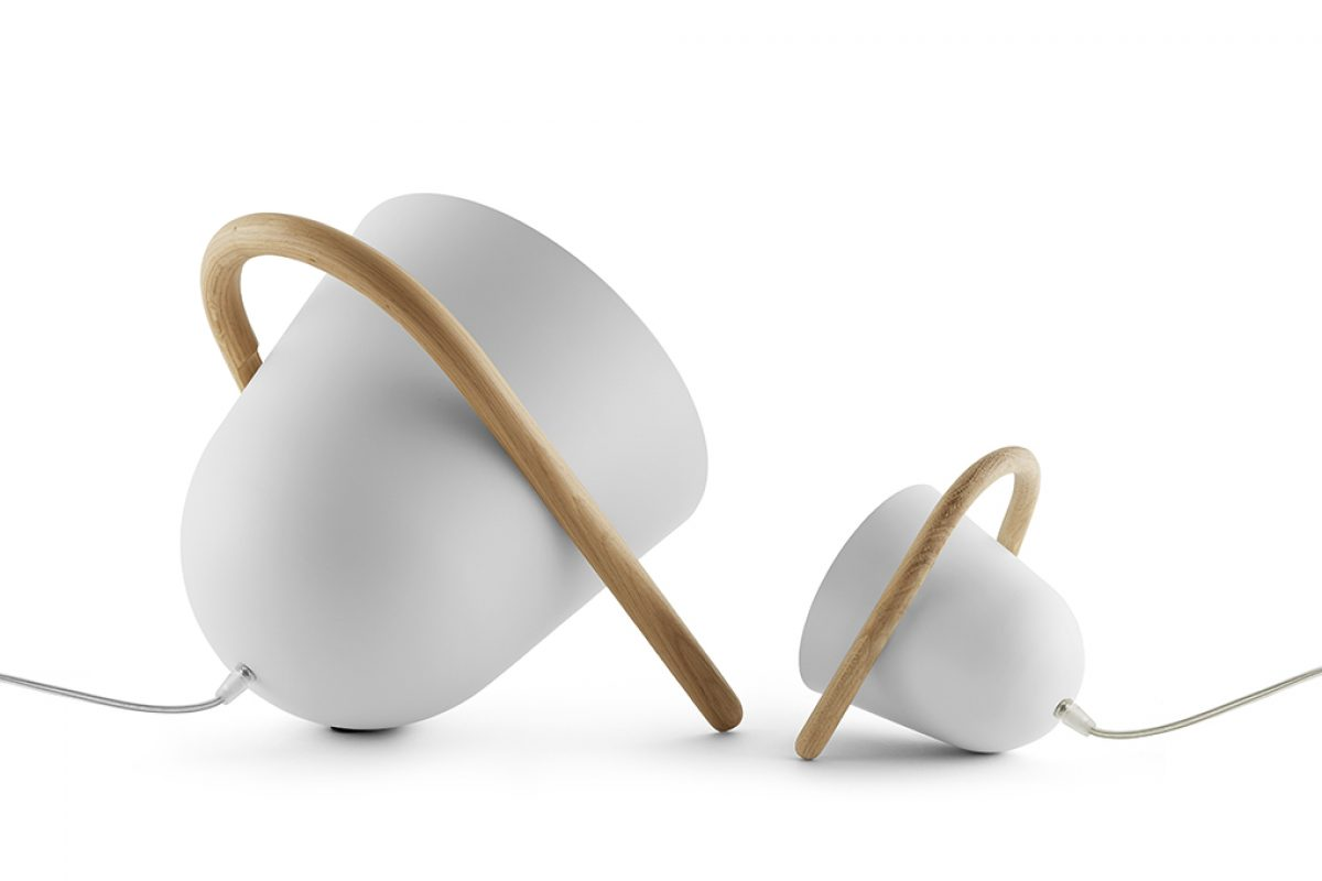 Elma & Elmetta, a portable lamp family by Tommaso Caldera for Incipit