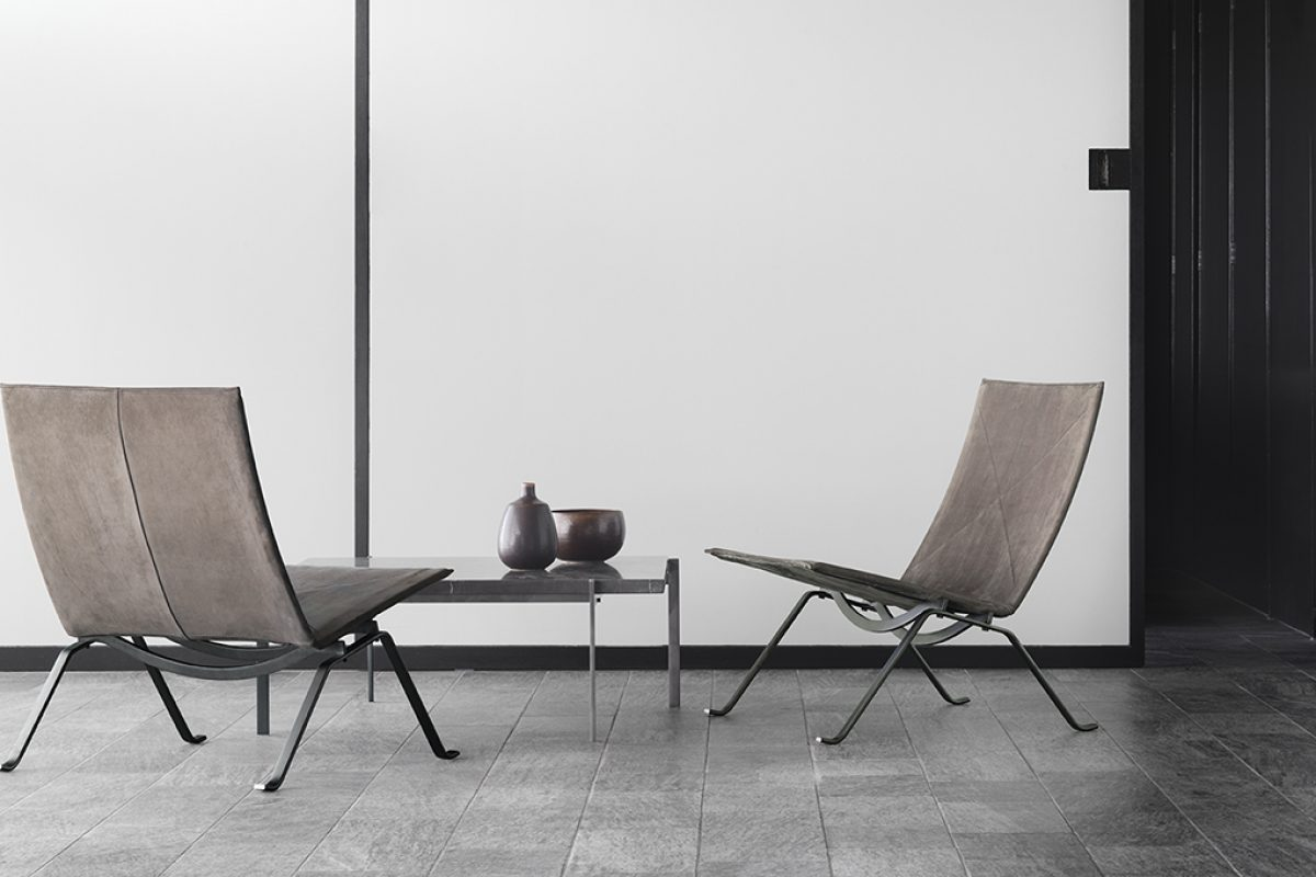 Fritz Hansen celebrates the 60th anniversary of iconic designs by Poul Kjærholm with a limited edition