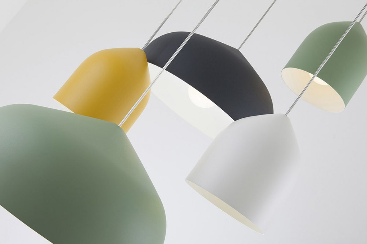 Delicate and gentle Odile lamp designed by Paolo Cappello for Lumen Center Italia