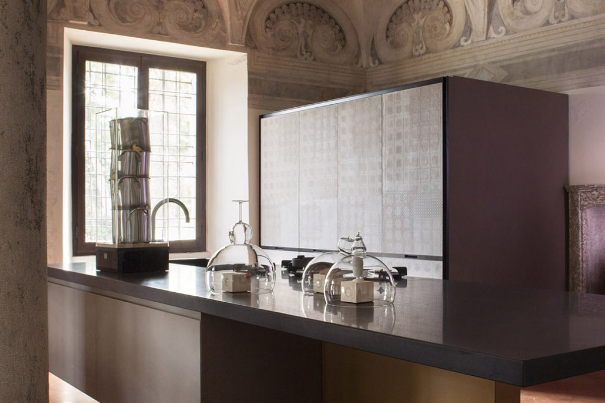 "New ""Estivale"" kitchen by Benedini Associati for Key Cucine"