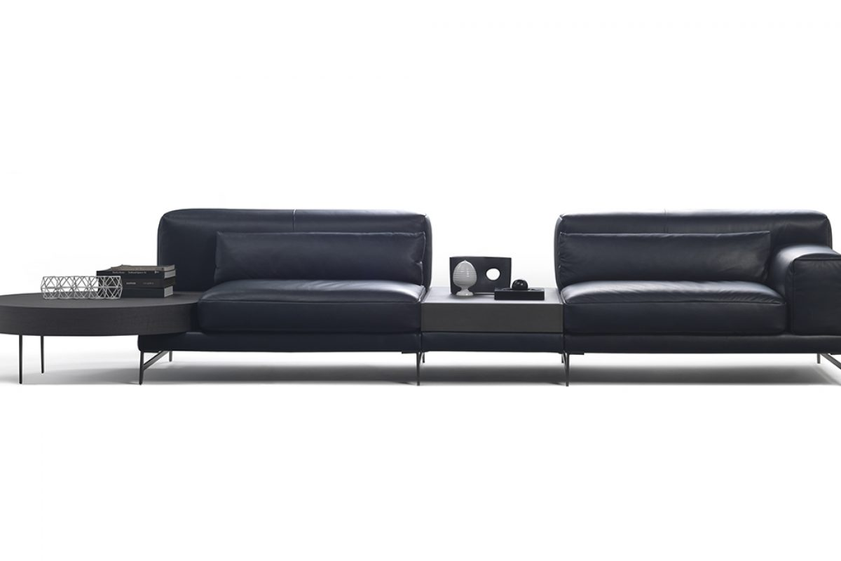 Ido, sofa and furniture system by Mauro Lipparini for Natuzzi