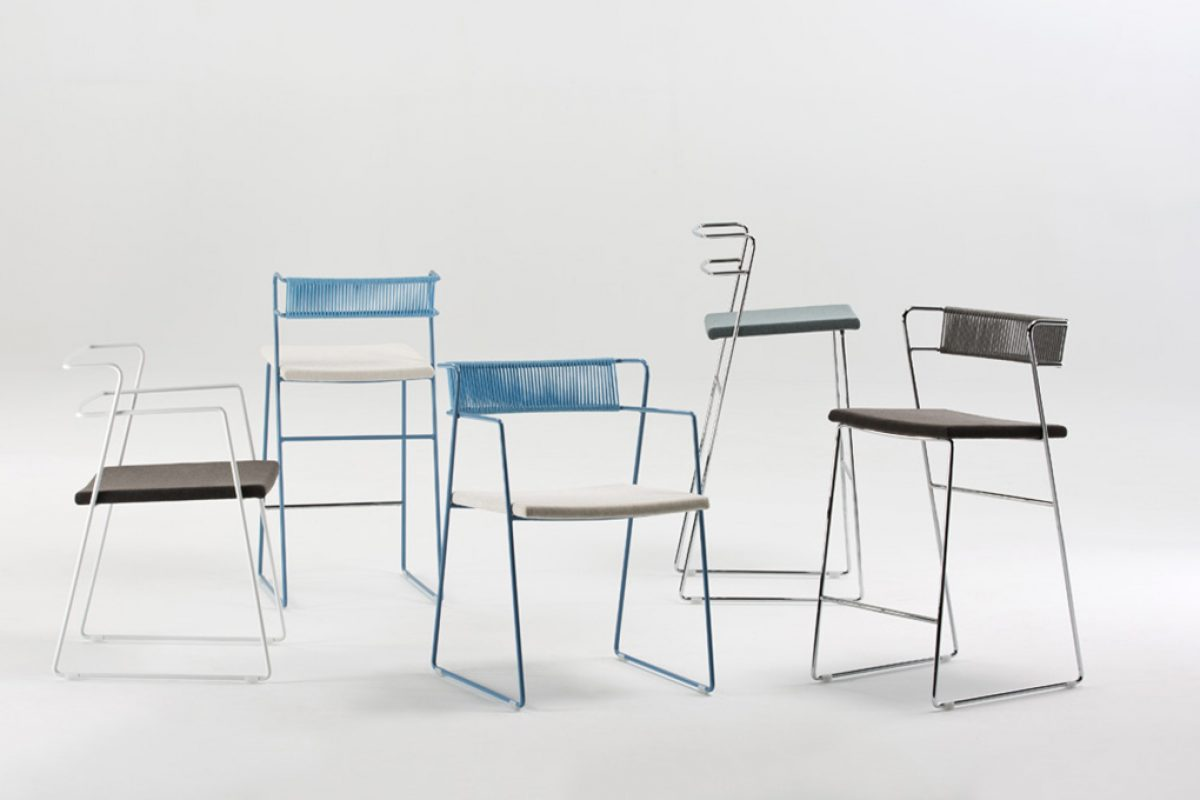 Valkit presents three new chair collections designed by Gallega Design