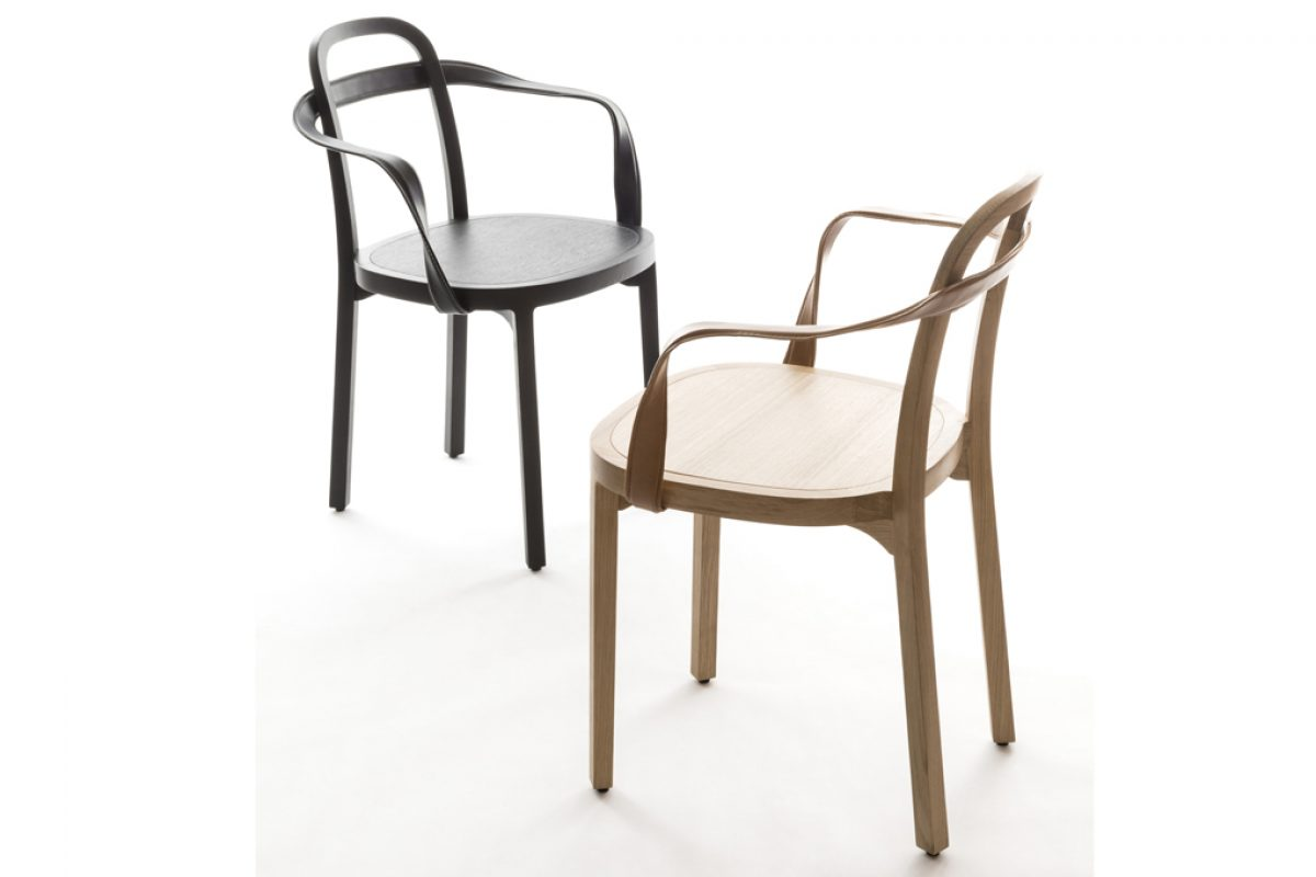 Siro by Woodnotes, the chair designed with the Scandinavian rigor and the Italian sensuality