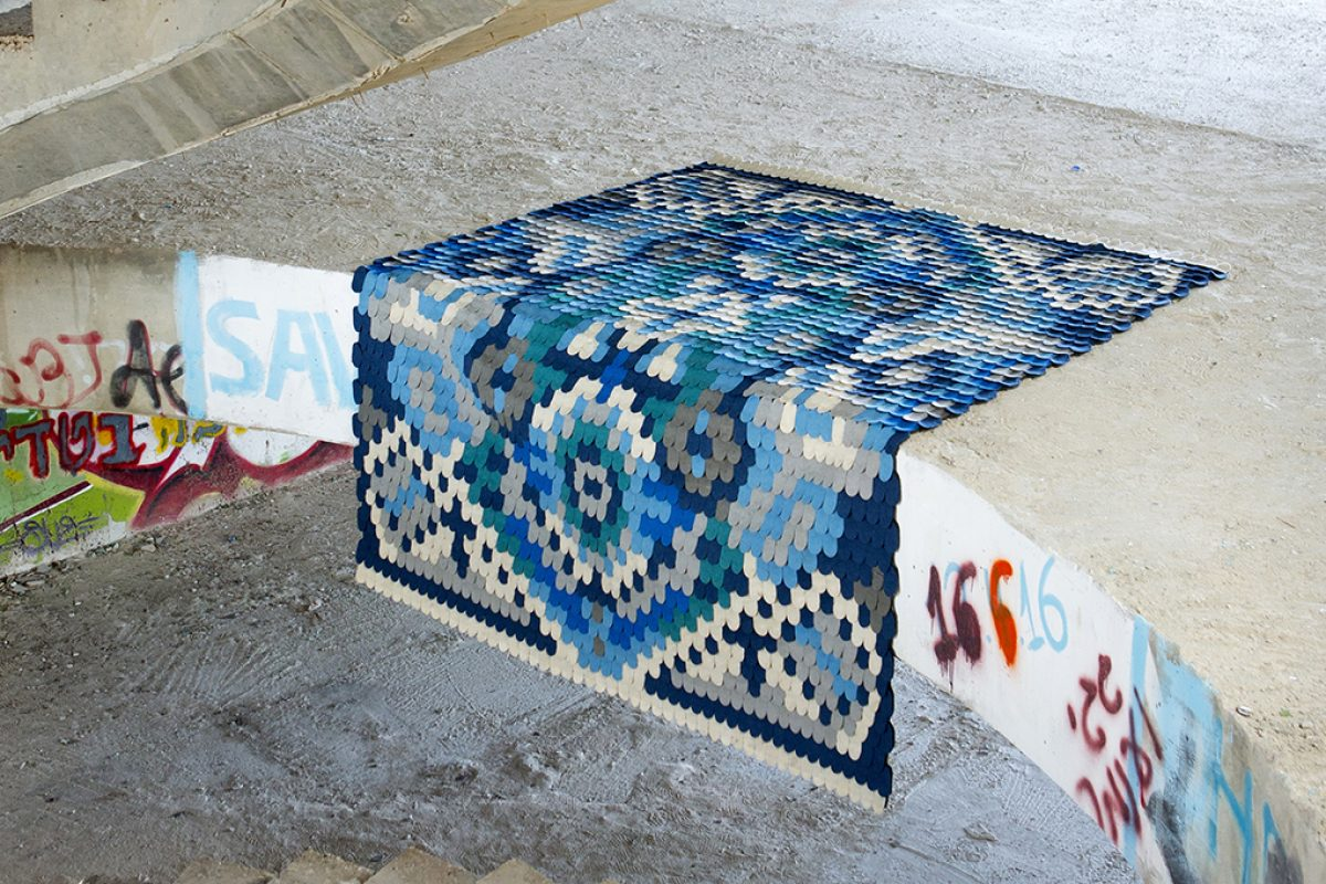 Producks design studio collaborates with Jaipur on the new Scales Rug