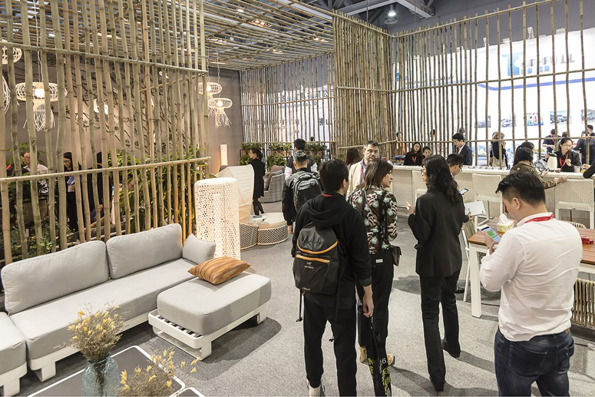 CIFF Outdoor & Leisure. The best of garden furniture and equipment for leisure activities, at CIFF-Shanghai 2016