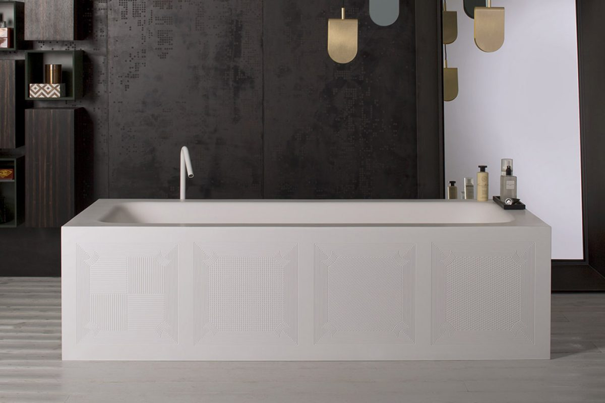 Capod'opera presents Décor Collection, the customizable bathtub
