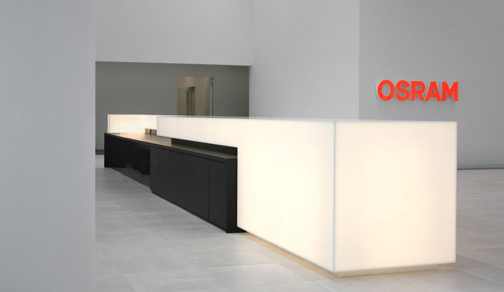 Hi Macs 174 Enlightens The Osram Headquarters In Munich The