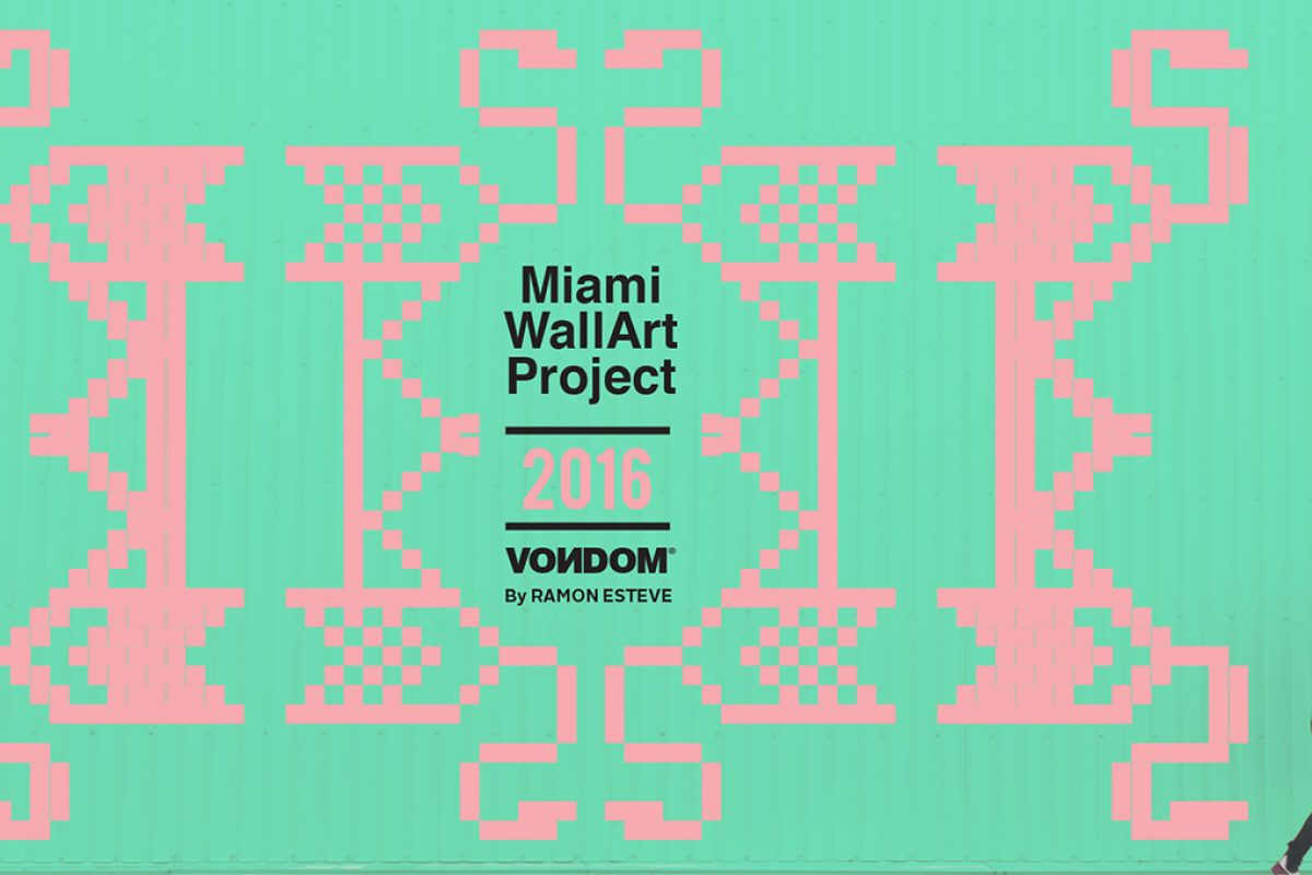 Ramón Esteve Estudio and Vondom call for entries for artists to participate at Miami WallArt Project