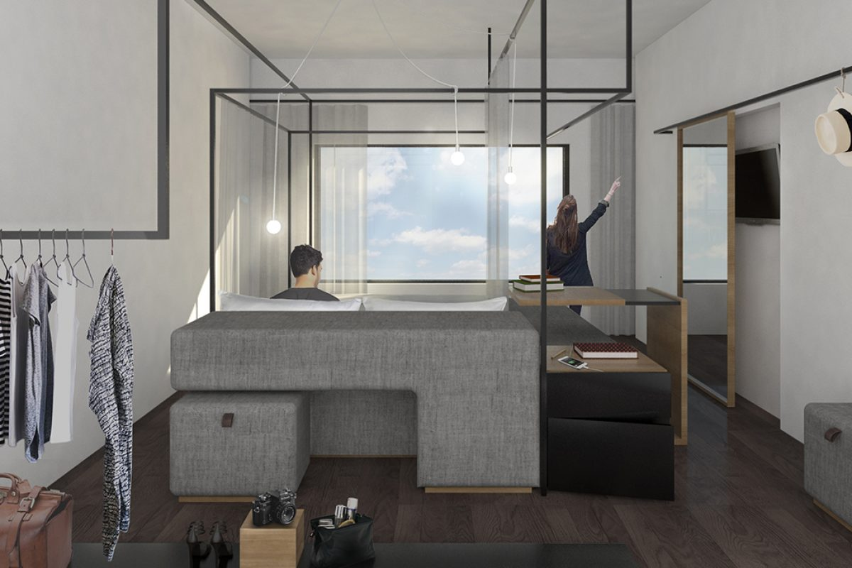 Innovative concept by four o nine awarded first prize in eurostars hotel lab design
