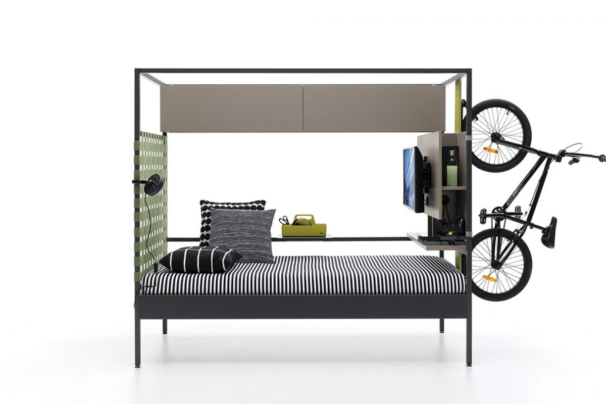 Nook, the JJP's singular bed collection designed by Carlos Tiscar