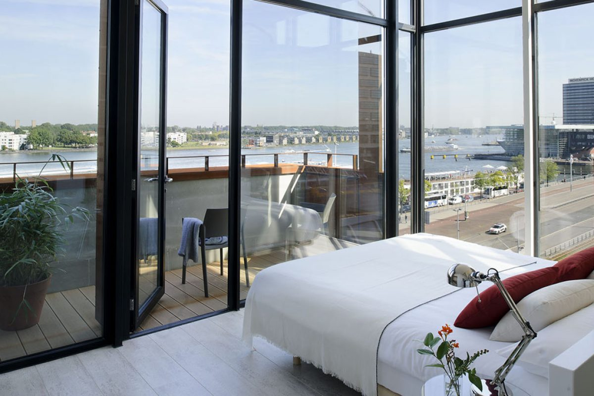 New boutique apartments by Eric Vökel in Amsterdam. Nordic design with the Mediterranean soul