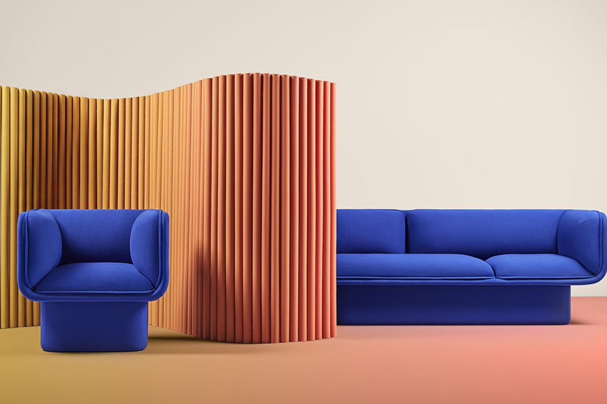 Missana launches Block, a collection designed by Mut Design to build outstanding spaces with elegant, colorful & fun sofas