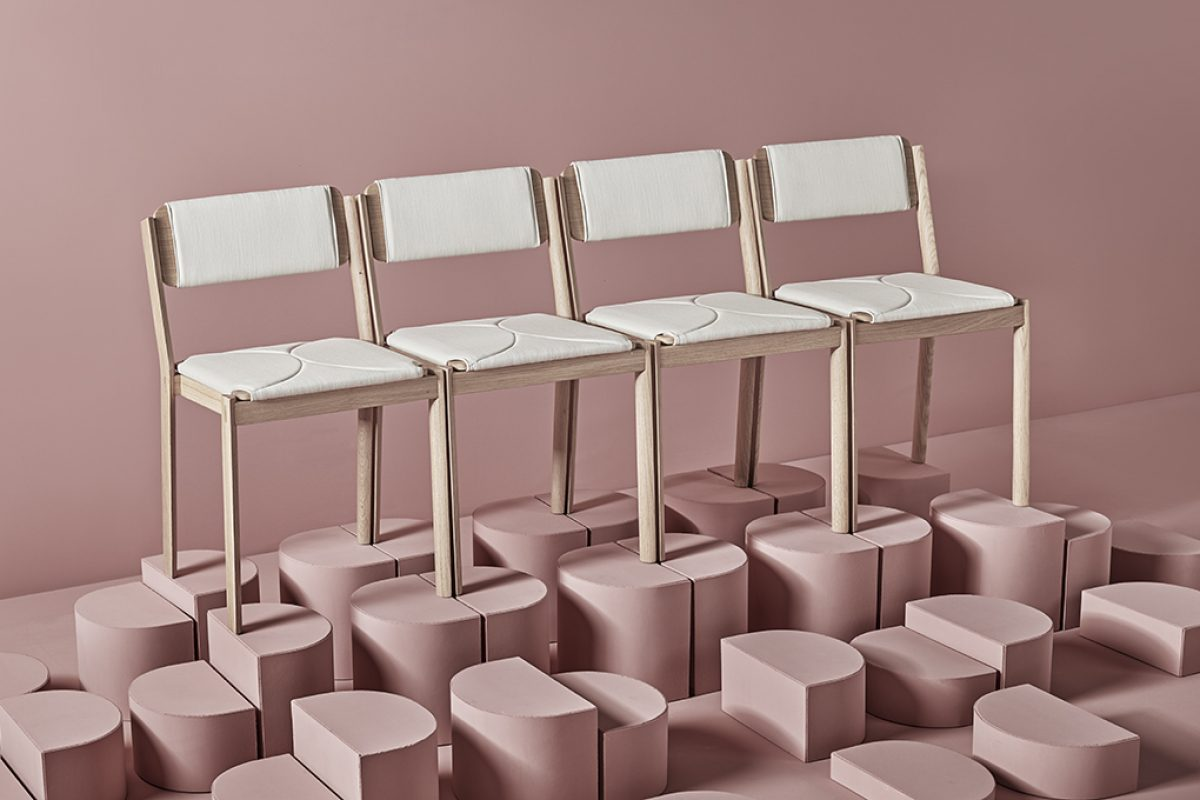 Missana launches Half, a new Japanese inspired chair designed by Cuatro Cuatros