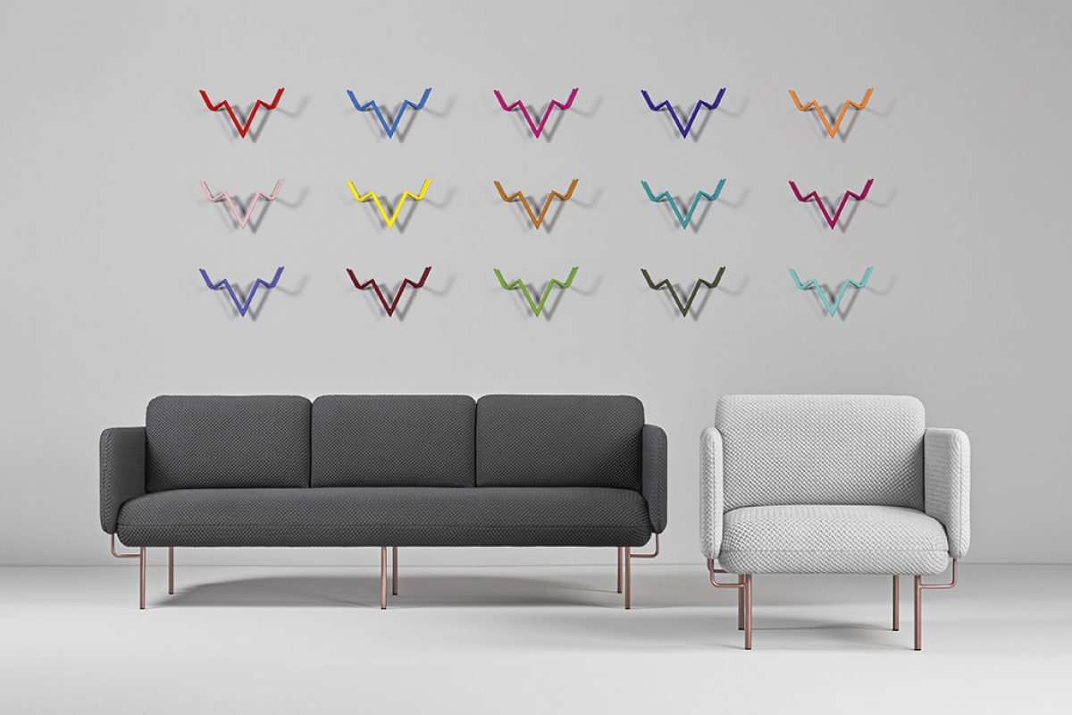 Alce by Chris Hardy for Missana, a collection of avant-garde & austere sofas with an Australian soul