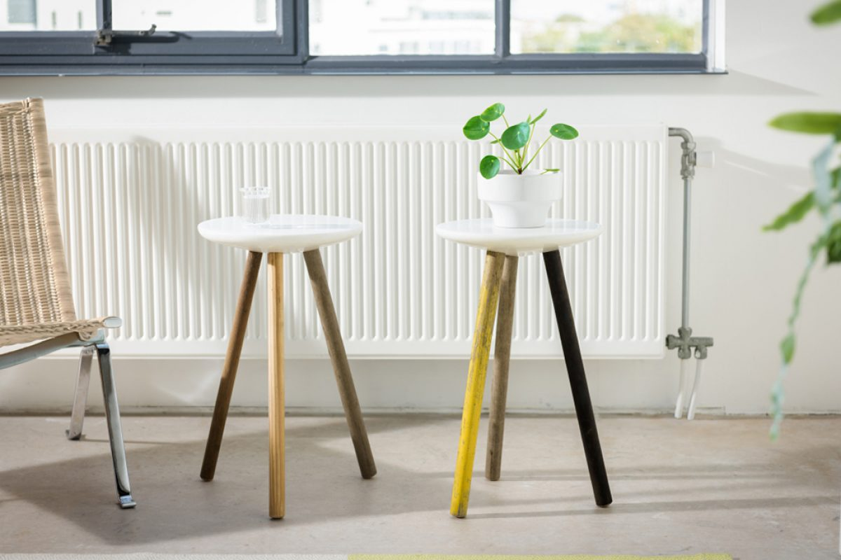 Stool/Side table SPA designed by Reinier de Jong for new furniture brand Stilst