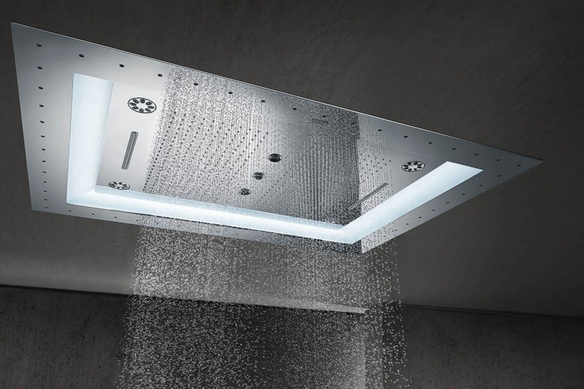 AquaSymphony shower by GROHE. Create Your Own Luxury Spa at Home