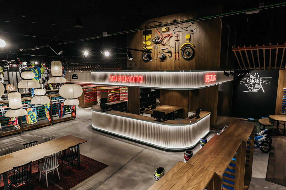 Stone Designs designed Moremoto. Much more than a store, a cultural melting pot