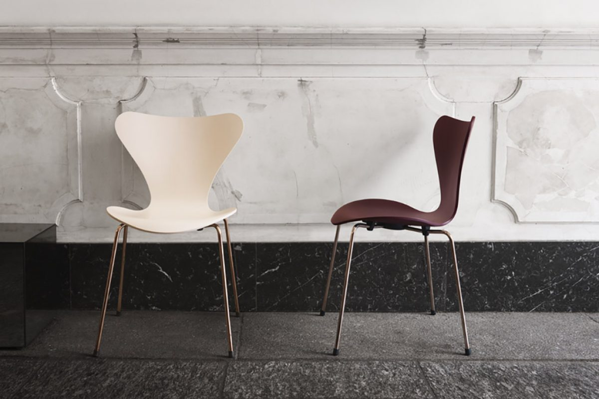New Series 7™ chair and Table Series™ Special Edition 2017 by Republic of Fritz Hansen