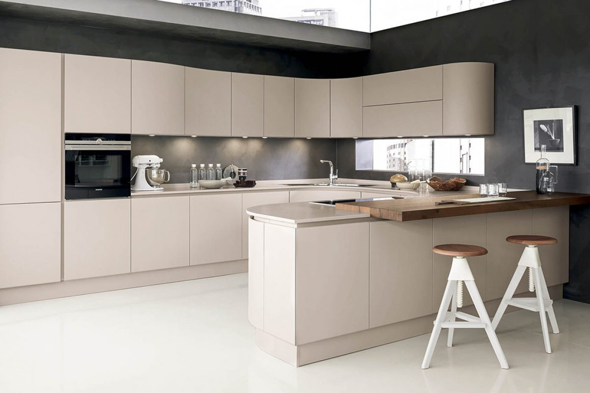 imm-cologne 2017 preview: New version of  Artika kitchen by Pedini made with HI-MACS®