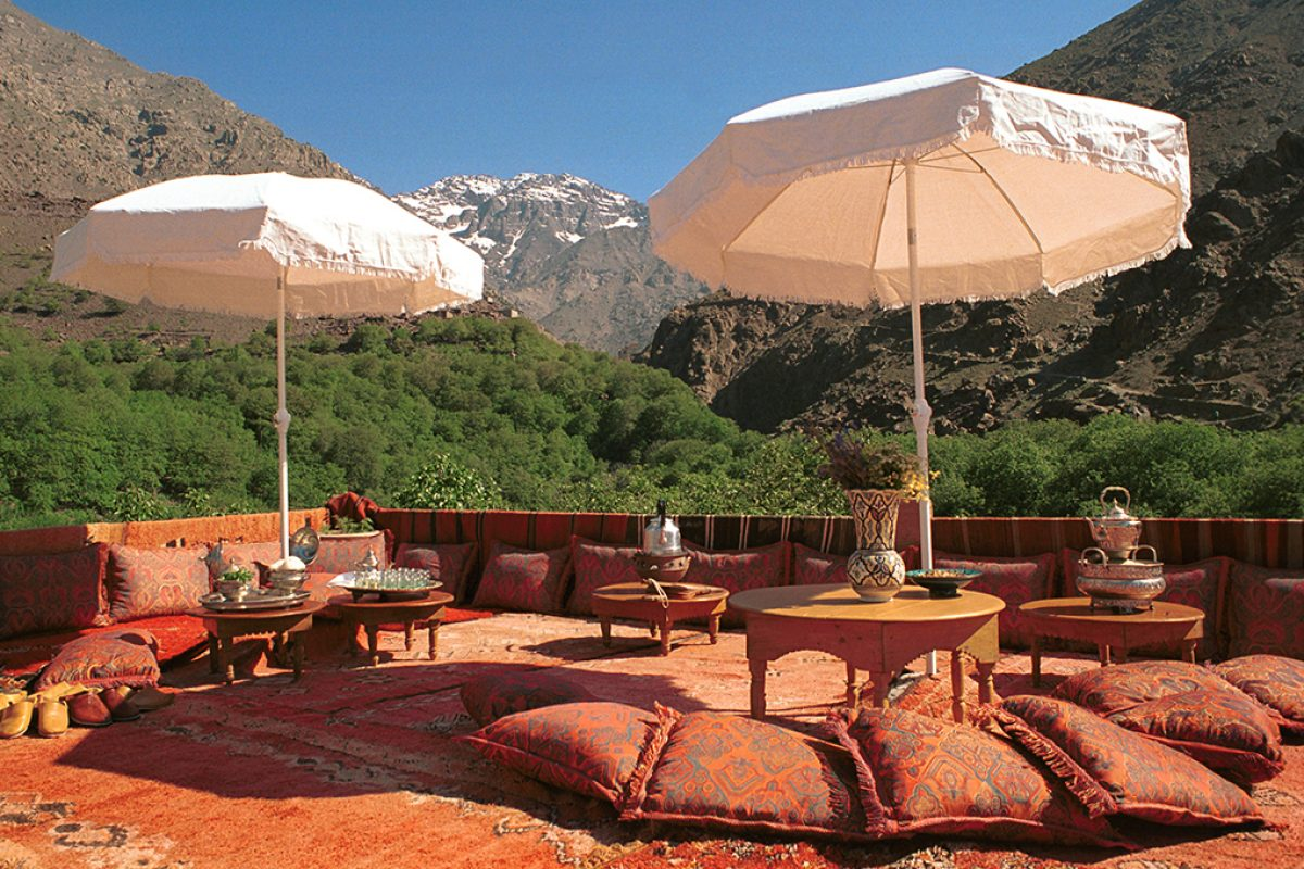 Kasbah du Toubkal, a hotel in Marrakech awarded at the COP22 for its contribution to sustainable tourism