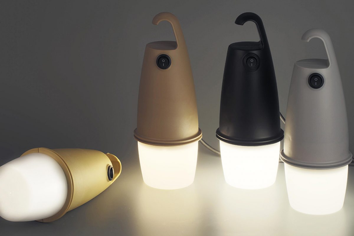 #2017sff Preview: Hook by Oiko for Faro Barcelona. A portable ECO-conceived lamp