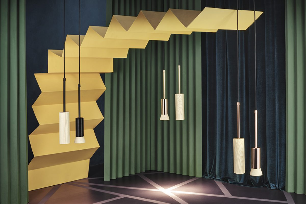 Nistal presents his last design, the Menuet lamps collection