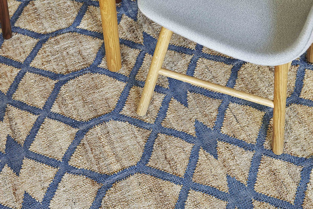 2017 new colours for Rodas, the jute rugs collection by GAN Rugs