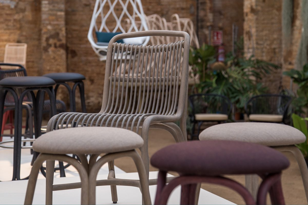 Expormim makes rattan thrive again with Gata & Gres by Miguel and Gonzalo Milá