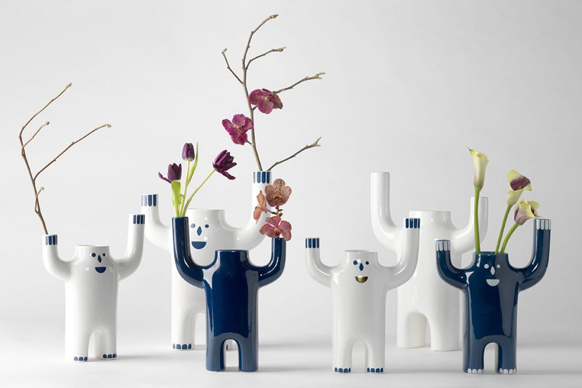 Happy Susto by Jaime Hayon for BD Barcelona Design. Timeless little ceramic architectures