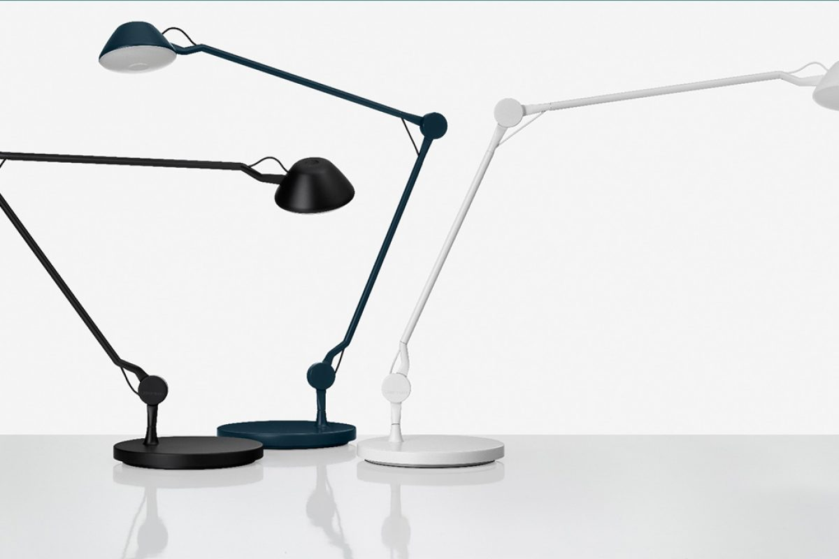 #Euroluce2017 Preview: AQ01 lamp by Anne Qvist for Lightyears. Functional elegance on the office desk