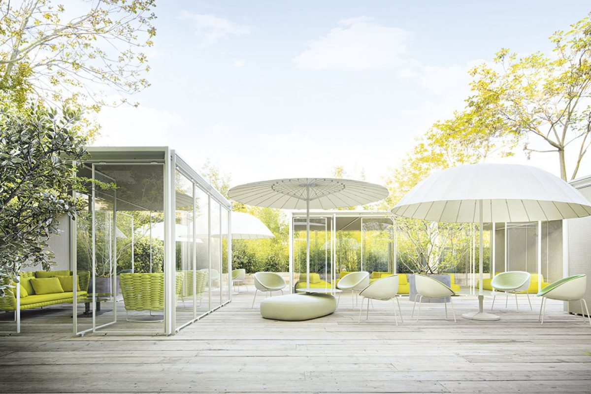 Amable, the new outdoor chair designed by Victor Carrasco for Paola Lenti