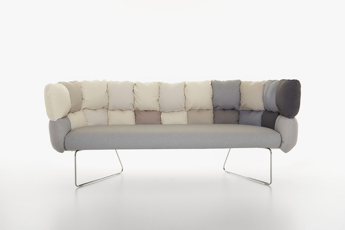 Modularity, transformability, irony: 3 keywords for Undecided  Sofa, the new Manerba project