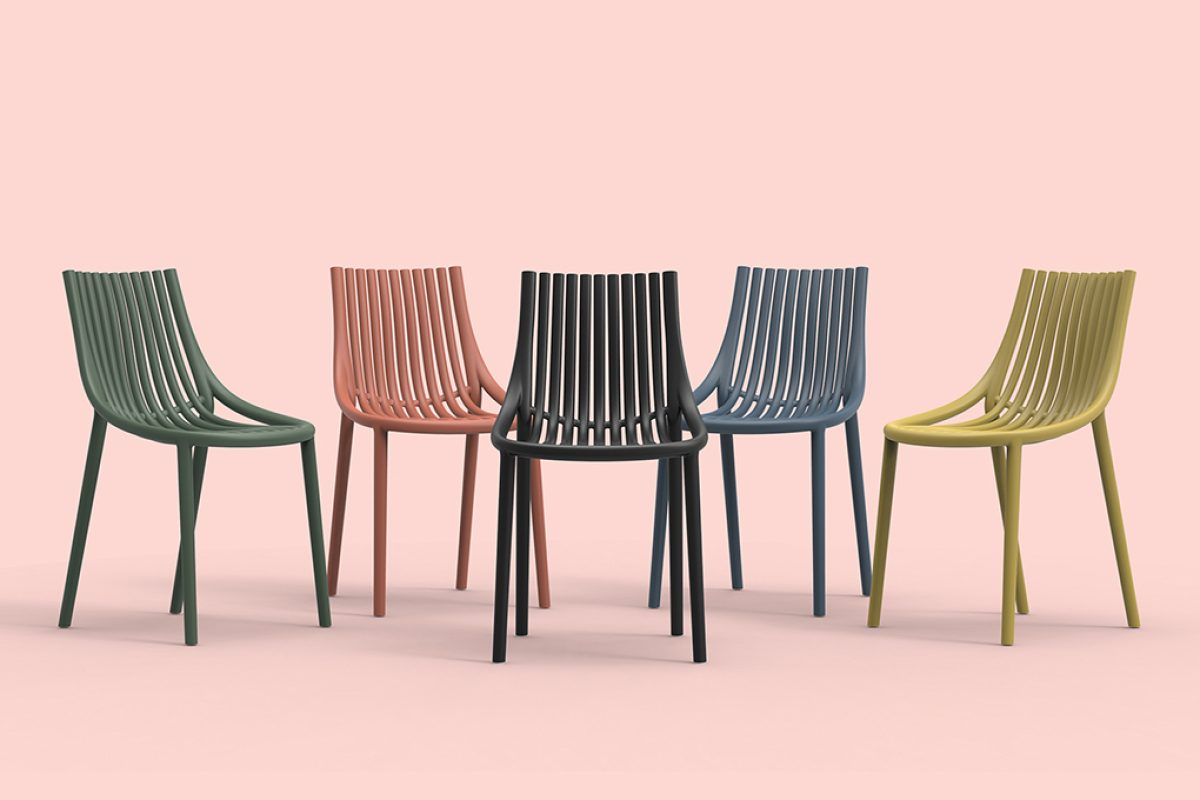 Eugeni Quitllet revives memories of his past with Ibiza, the new collection designed for Vondom