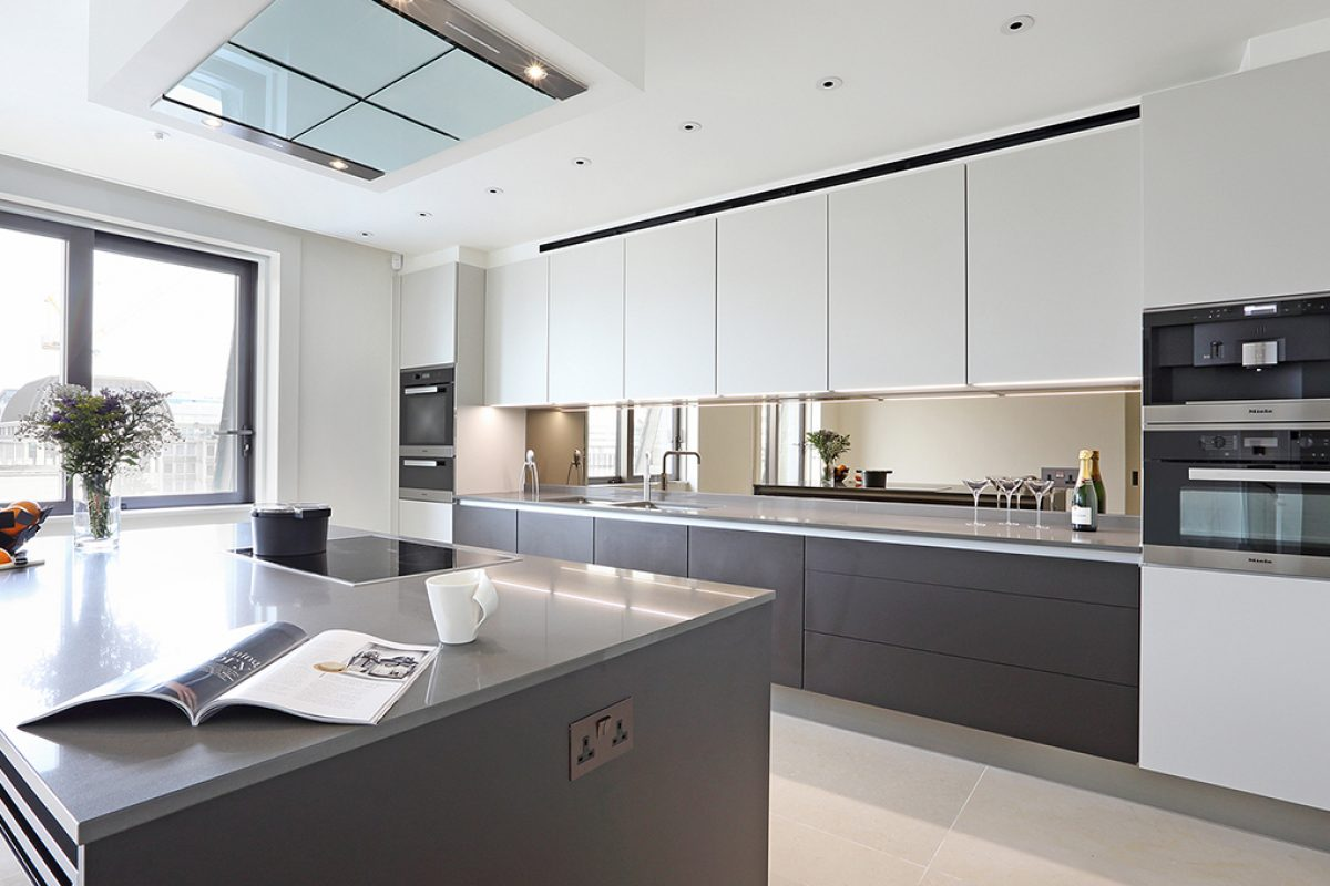 Case Studies: Poggenpohl kitchens for the luxury property Oceanic House in London