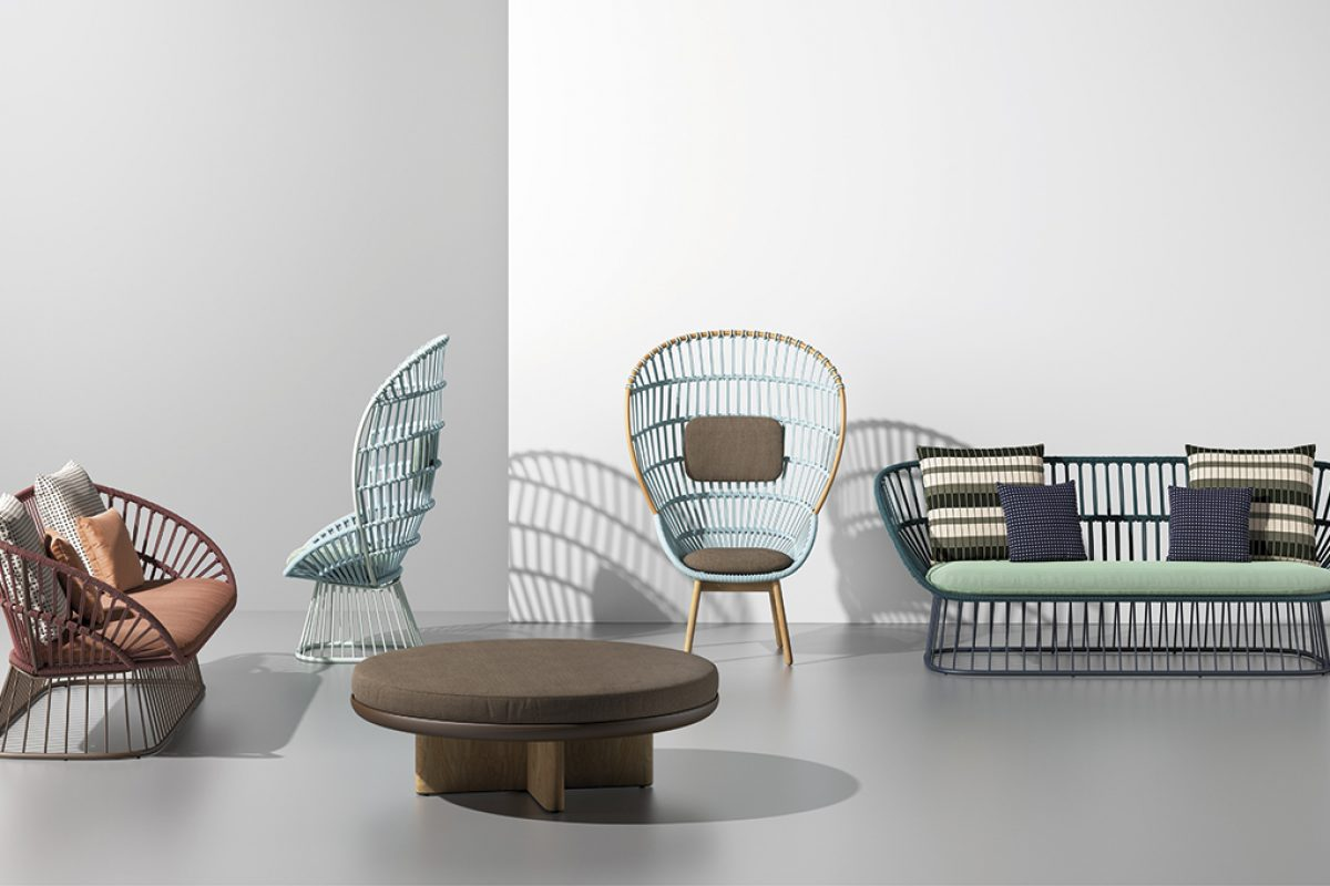 Doshi Levien completes the Cala collection for Kettal. Light and transparent surfaces with a majestic presence