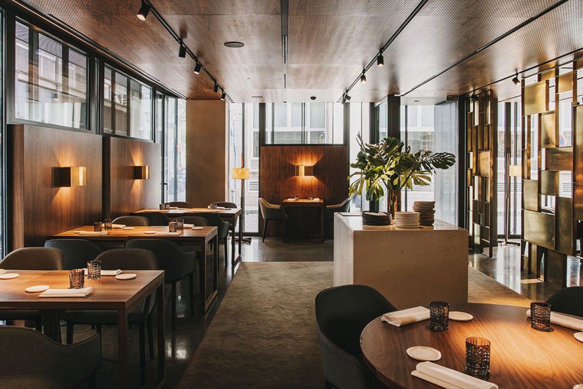 Murri Restaurant designed by Tarruella Trenchs. A sophisticated proposal of elegance and sobriety