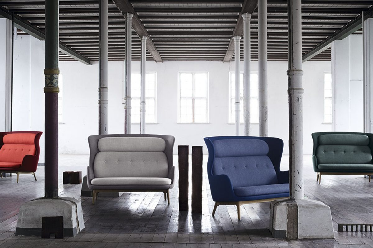 Jaime Hayon doubles for Fritz Hansen his iconic solution, RO™, for social yet intimate escape