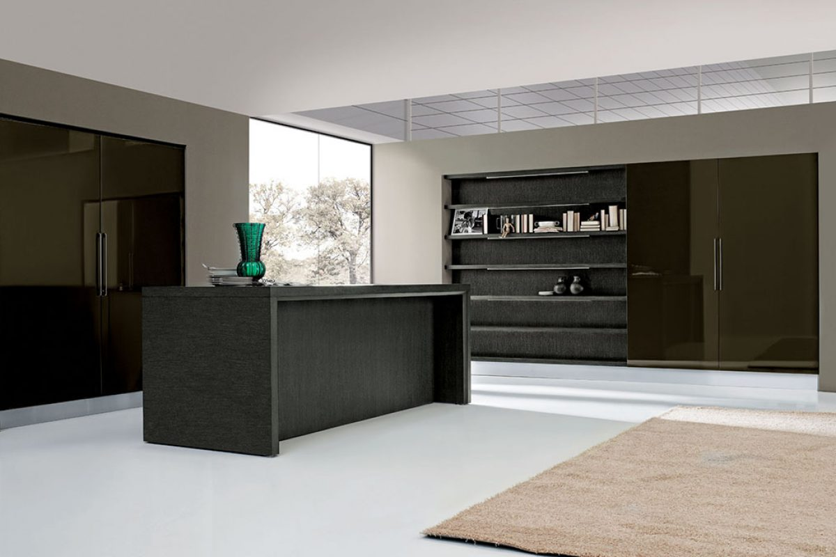 Met by Aran Cucine, the kitchen that appears and disappears. Flexible and adaptable