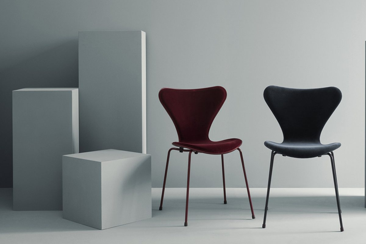 Fashion meets Furniture with Lala Berlin x Republic of Fritz Hansen: a velvet voyage