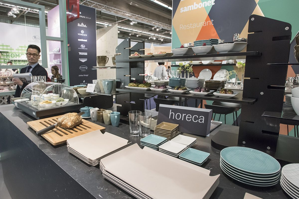 Ambiente 2018 as inspirational source for the hospitality industry with its innovative HoReCa segment