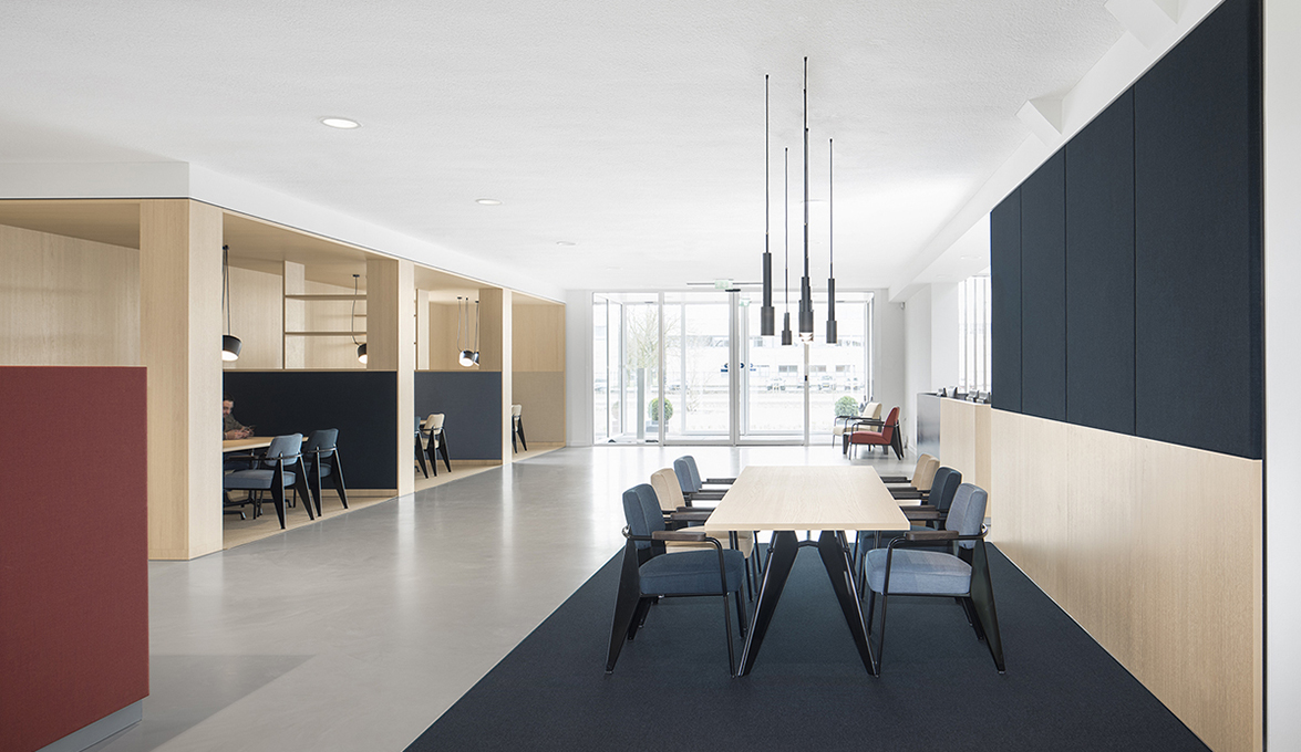 I29 Interior Architects Projected The New Bkr Workplace