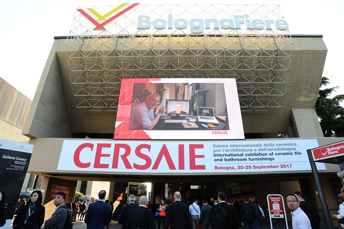 Attendance at Cersaie 2017 exceeds 111.000, with an increase of 4.7% compared to 2016