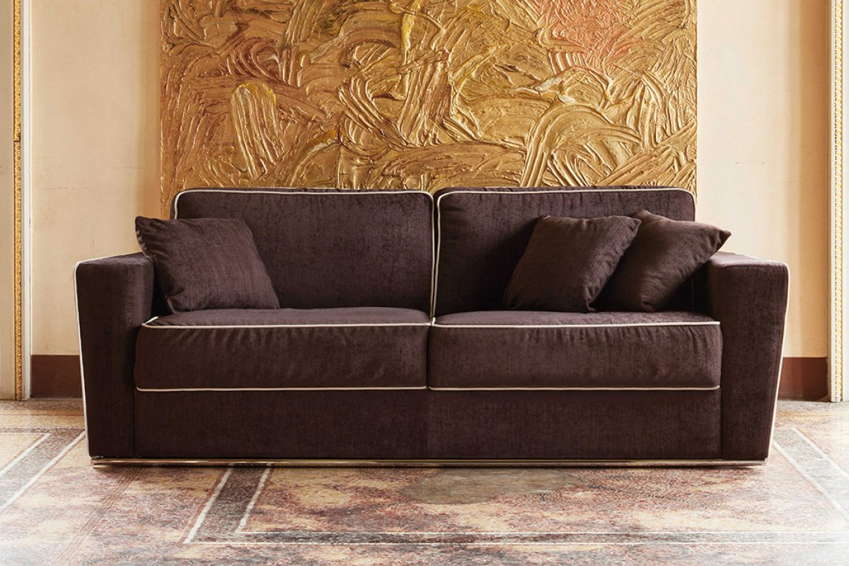 Autumn-winter furniture trends: Milano Bedding's sofas and sofa beds