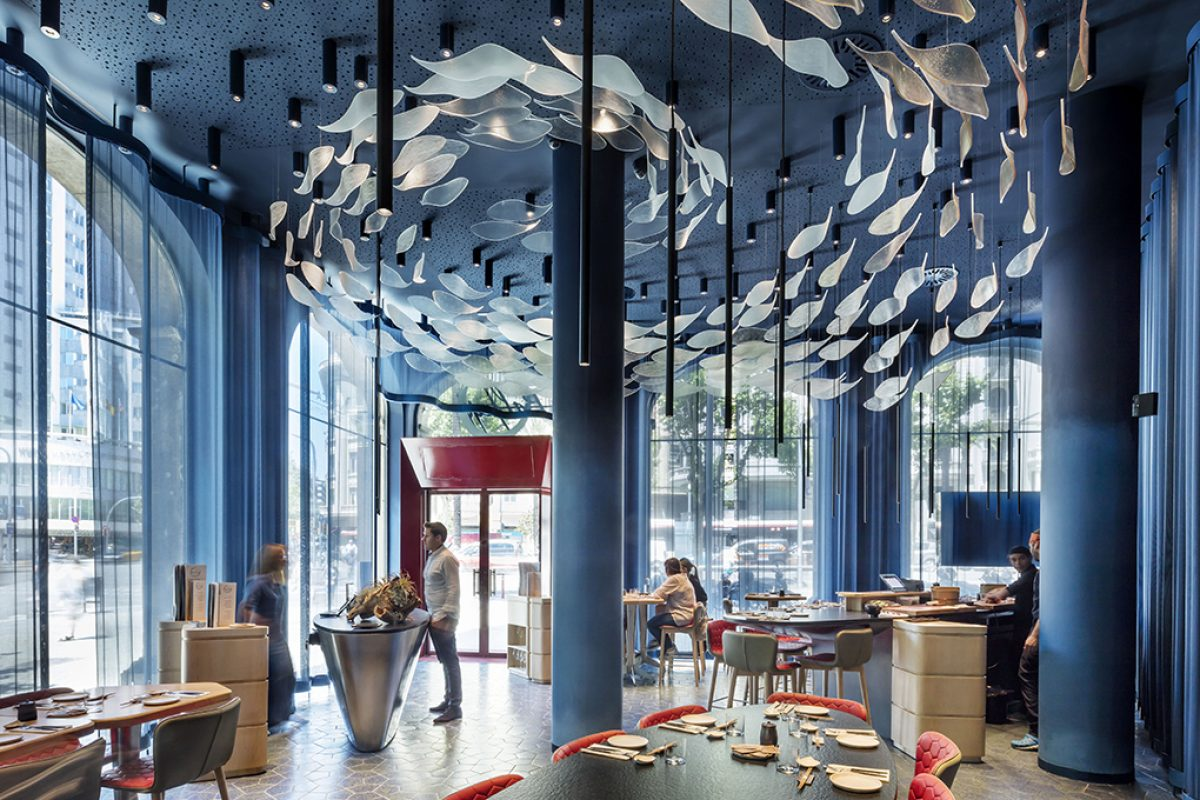 El Equipo Creativo makes the tuna protagonist, in all its forms, textures and colors, at the new Tunateca Balfegó restaurant