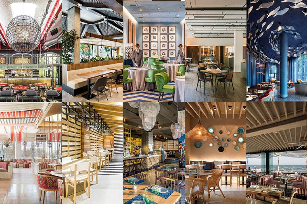 Ten Spanish restaurants that have stood out in 2017 for their interior design
