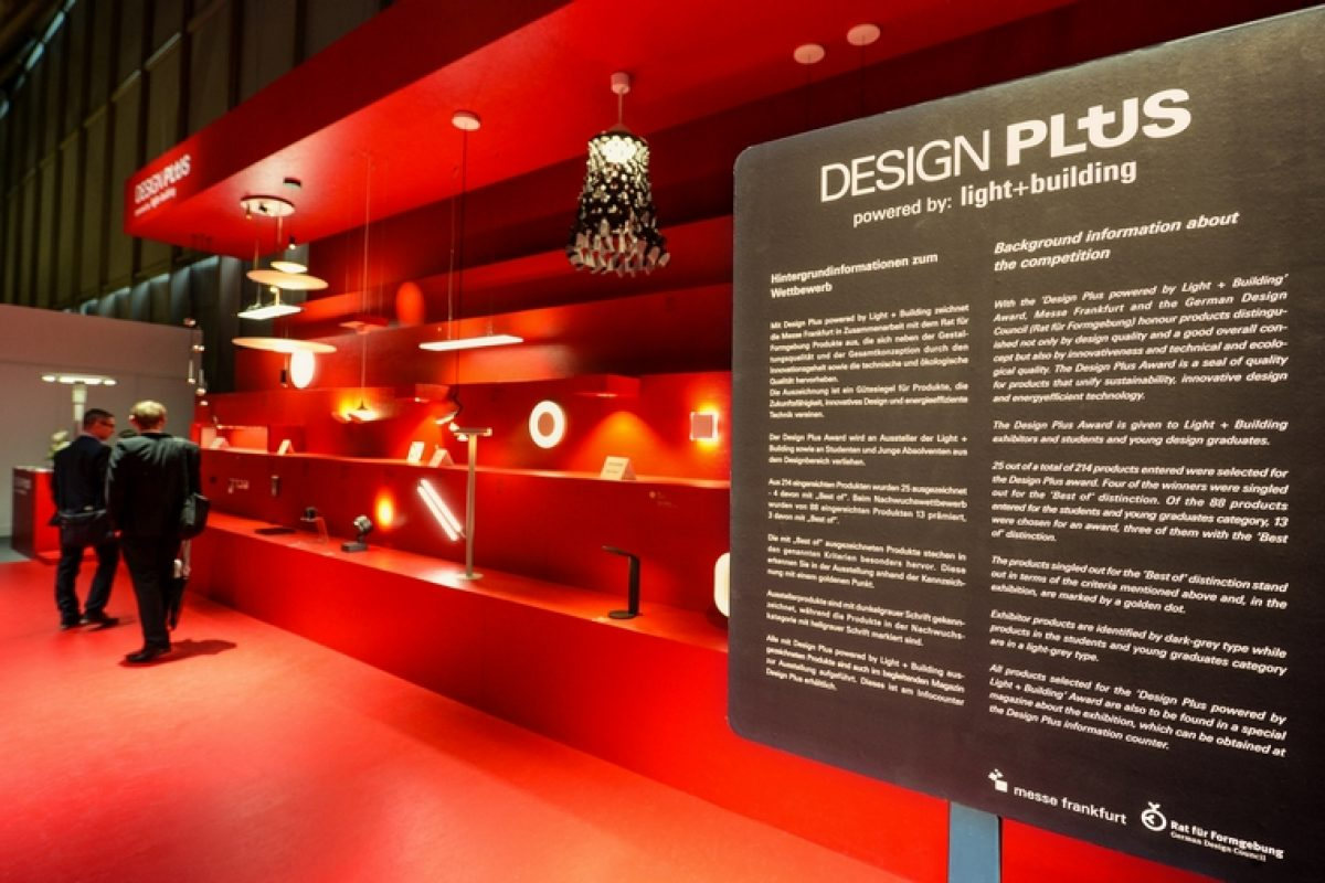 Design Plus contest promoted by Light + Building announced the best design innovations in lighting