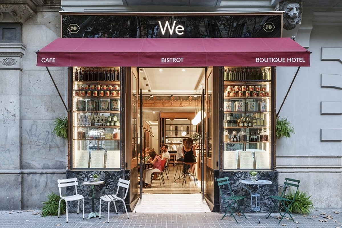 We Bistrot, the new vintage restaurant in the heart of Barcelona where not lacking in detail